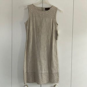 NWT Linen Shift Dress